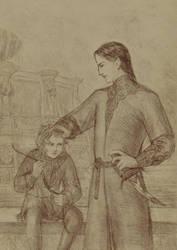 Beloved nephew by Periannart