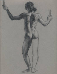 Nude figure 1 by Bearpuncher