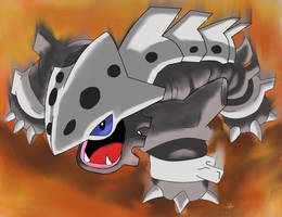 Lairon used EARTHQUAKE by YoshiGamerGirl
