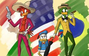 Three Birb Amigos by JDE10