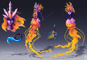 Jellyfish Nami Concept by fang