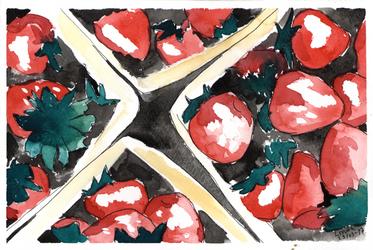 Strawberries by Lipezzaner