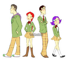 TS- AU School Uniforms by Loralit