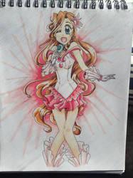 Mermaid idol color by sissie-chan