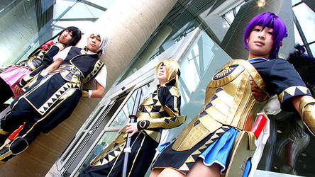 [Suikoden V] Queen's Knights by Yeu