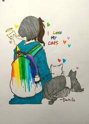 I Love My Cats by DaaG1604