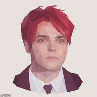 Gerard Way by aoromore