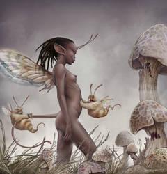 Fairly Frightening Ferocious Fungi by Kaduflyer