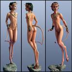 Lil-Divil Sculpt by Kaduflyer
