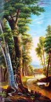 Trail Under The Great Oak - Arteet by Arteet