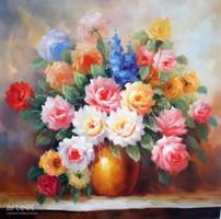 Pot of Flowers - Arteet by Arteet