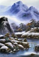 Snow Scenery in Mount Liang - Arteet by Arteet