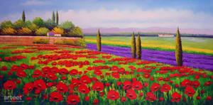 Red Poppies - Arteet by Arteet