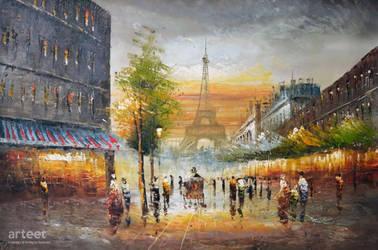 Evening in Paris - Arteet by Arteet