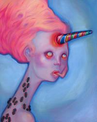Sugar Fiend, Pink. by Tonicacat