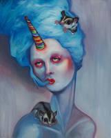 Sugar Fiend, Blue by Tonicacat