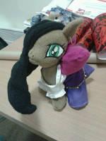Esmerelda Pony Plush by valaina-williams