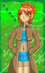 Naruto OC - Ayame by BBsGirl