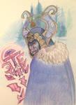 Rudder's Troll WoW Winter exchange by Alkaline-Lady