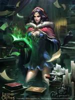 Grimoire Fanatic Chantelle1 by Liang-Xing