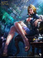 The moonlight girl1 by Liang-Xing