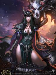 Dragon girl1 by Liang-Xing