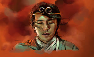 A Chinese Odyssey-Stephen Chow by Liang-Xing