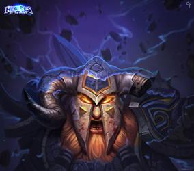 Heroes of the storm-Muradin Bronzebeard by Liang-Xing
