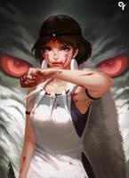 Princess Mononoke by Liang-Xing