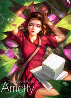 The Secret World of Arrietty by Liang-Xing