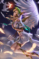 Winged Victory by Liang-Xing