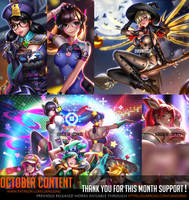 October Content complete ! by Liang-Xing