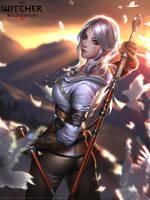 Ciri by Liang-Xing