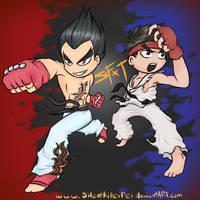 Street Fighter x Tekken by XReinaxStarX