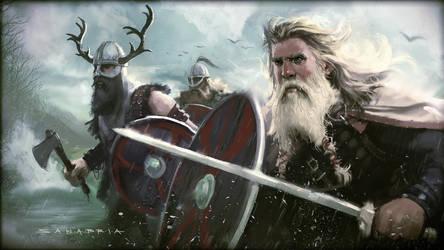 Viking Landing by JosephSANABRIA