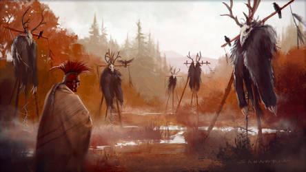 Sacred Grounds by JosephSANABRIA