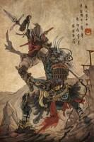 To Deny a Deity (Ukiyo-e Style) by sXeven