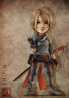 Chibisized Shuin by sXeven