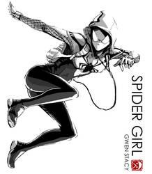 Spider Gwen by sXeven