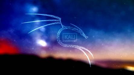 Polygonal Kali Logo WP v2 by xxdigipxx