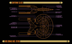 USS Zodiac - Master Systems Display by Rekkert