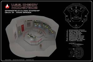 USS Chekov Bridge Cutaway by Rekkert