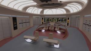 USS Enterprise-D Bridge - Season 7 Version by Rekkert