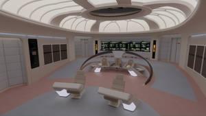 USS Enterprise-D Bridge - Farpoint Version by Rekkert