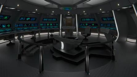 USS Constellation Bridge by Rekkert