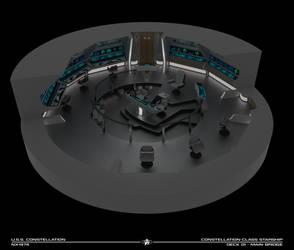 USS Constellation Bridge Cutaway by Rekkert