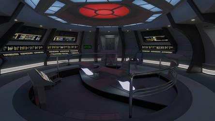 USS Galaxy Battle Bridge - 2365 by Rekkert