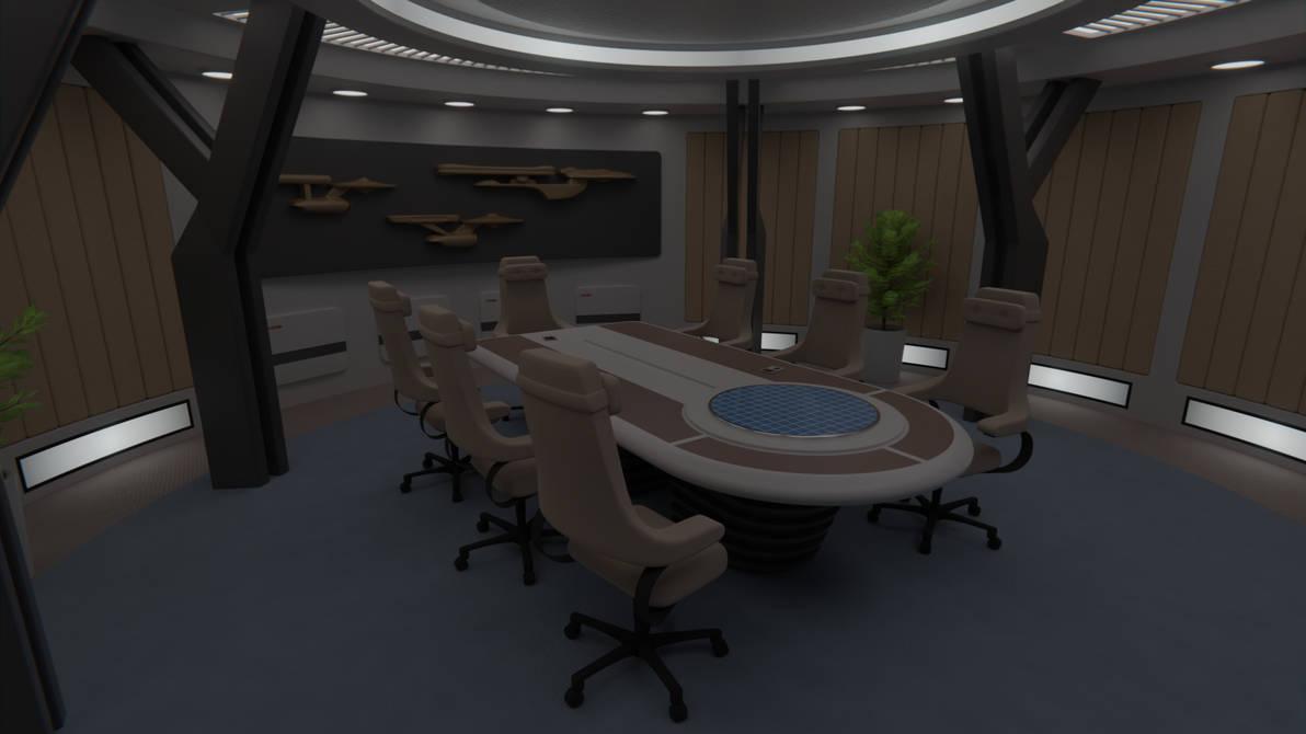 USS Potemkin Briefing Room by Rekkert