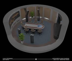 USS Potemkin Briefing Room Cutaway by Rekkert
