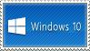 Windows 10 Stamp by kdude63